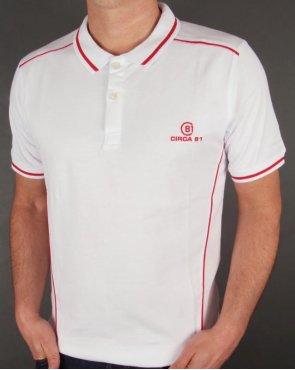 Circa 81 Champion Polo Shirt White