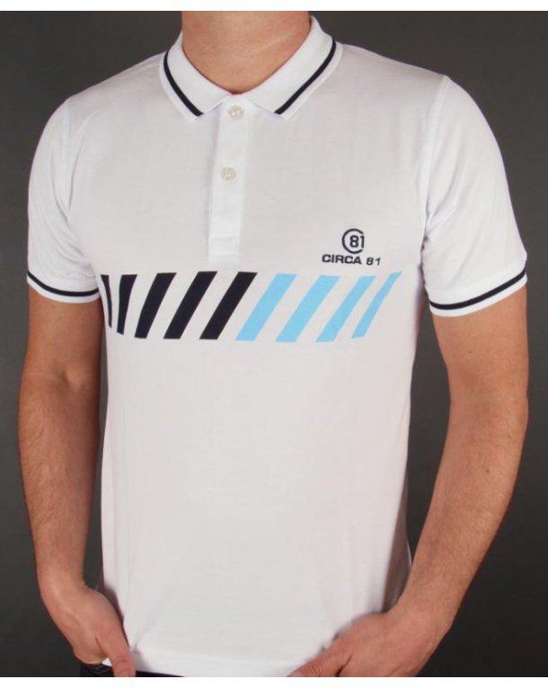 Circa 81 Monte Carlo Polo Shirt White