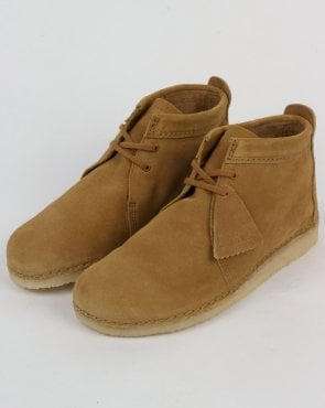 Clarks Originals Ashton Suede Boot Oak