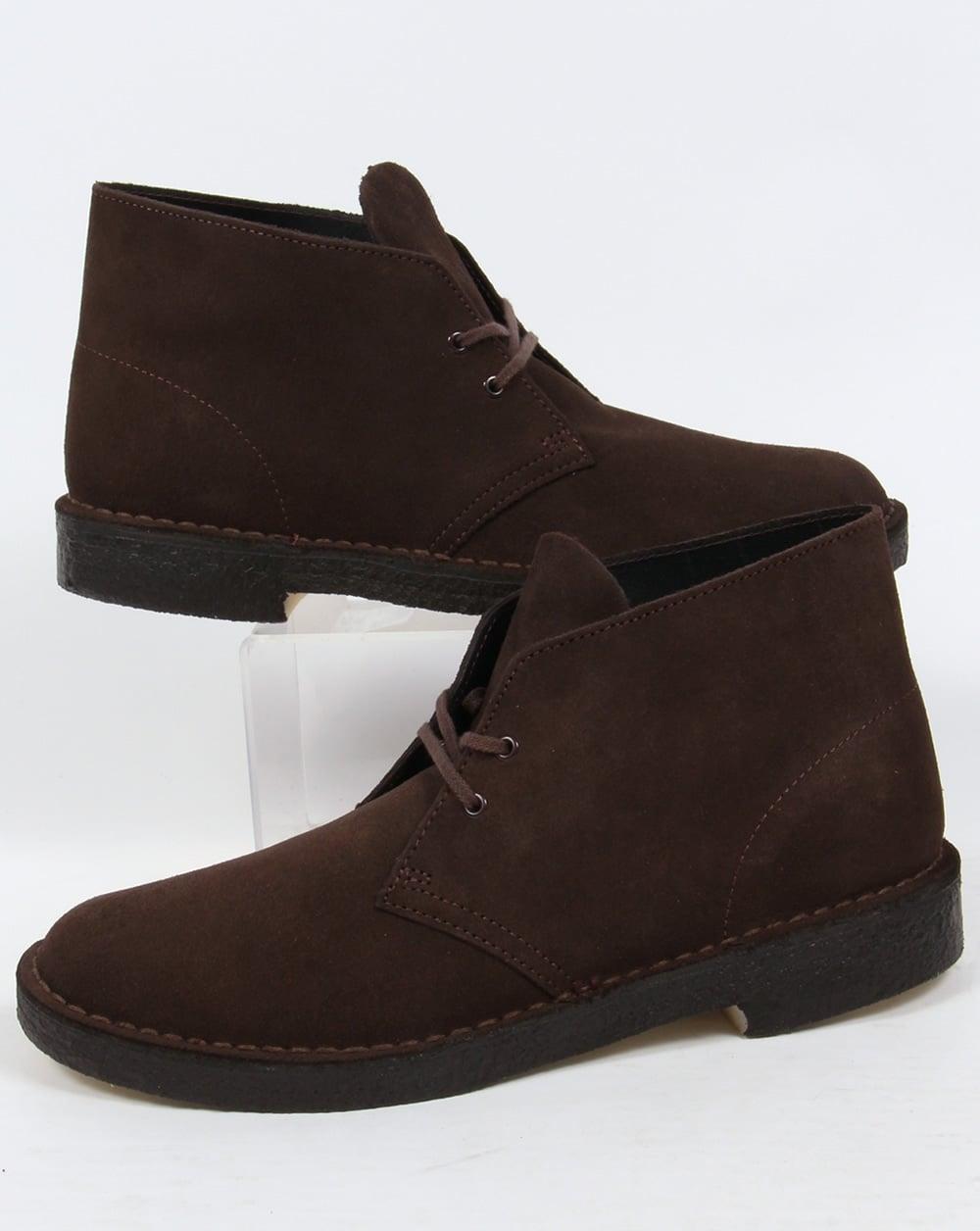 clarks originals desert boot in suede brown. Black Bedroom Furniture Sets. Home Design Ideas