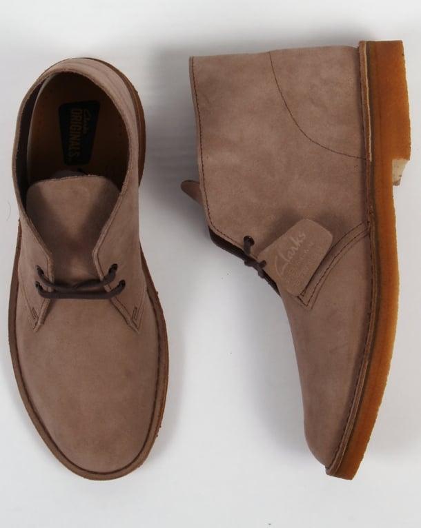 Clarks Originals Desert Boot In Suede
