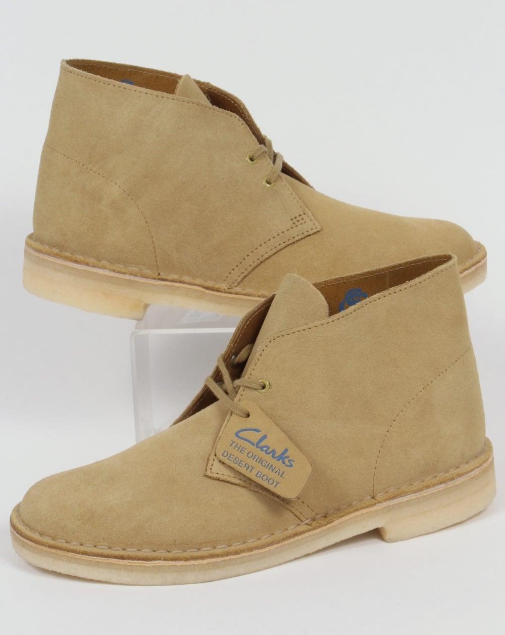258f92b870041f Clarks Originals Clarks Originals Desert Boot Maple Suede