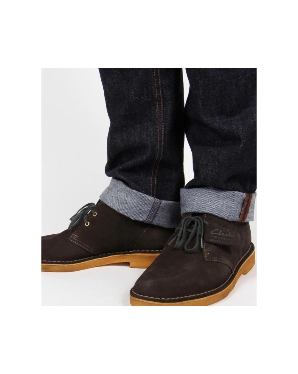 clarks originals desert boots in suede loden green shoes mens. Black Bedroom Furniture Sets. Home Design Ideas