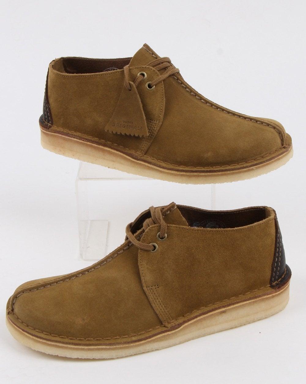 Boots, Suede Desert Trek, Olive