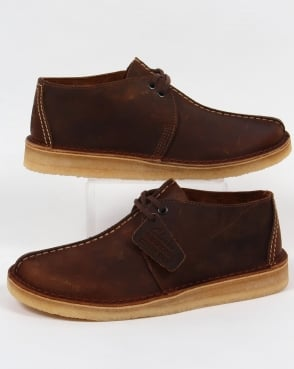 Clarks Originals Desert Trek Shoes Beeswax