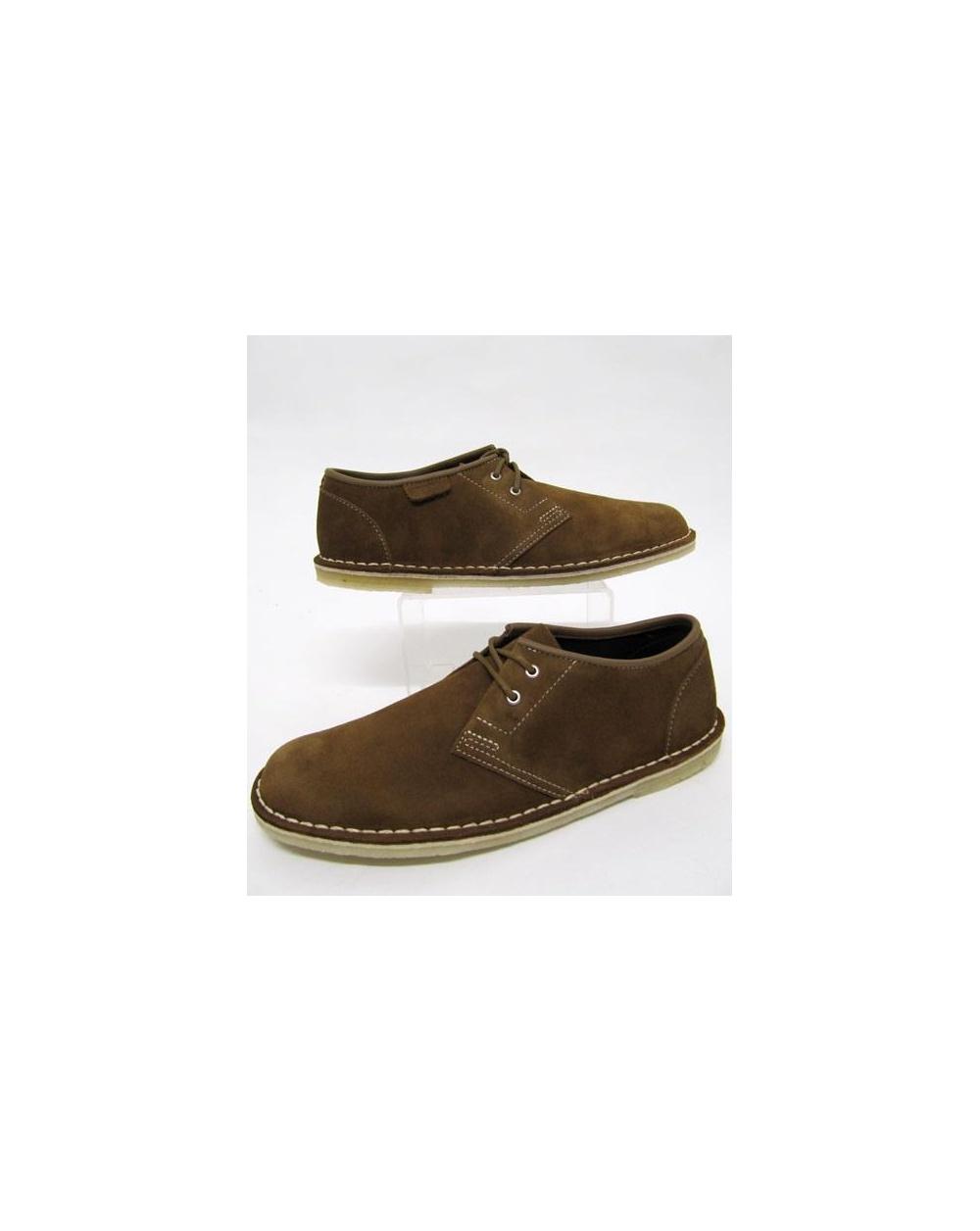 Clarks Originals Jink Shoe In Suede Cola