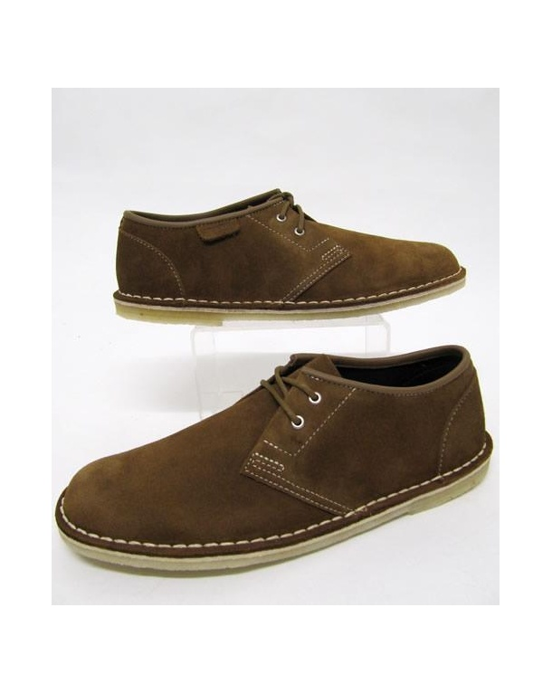 Clarks Originals Jink Shoe In Suede Cola