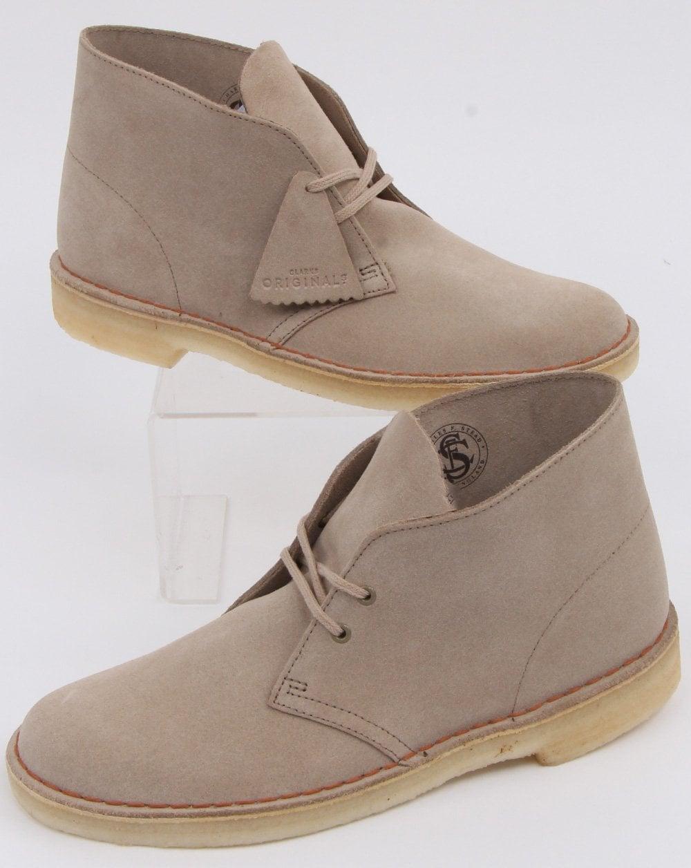 6a70e326891 Clarks Originals Suede Desert Boot Sand Suede | 80s casual classics