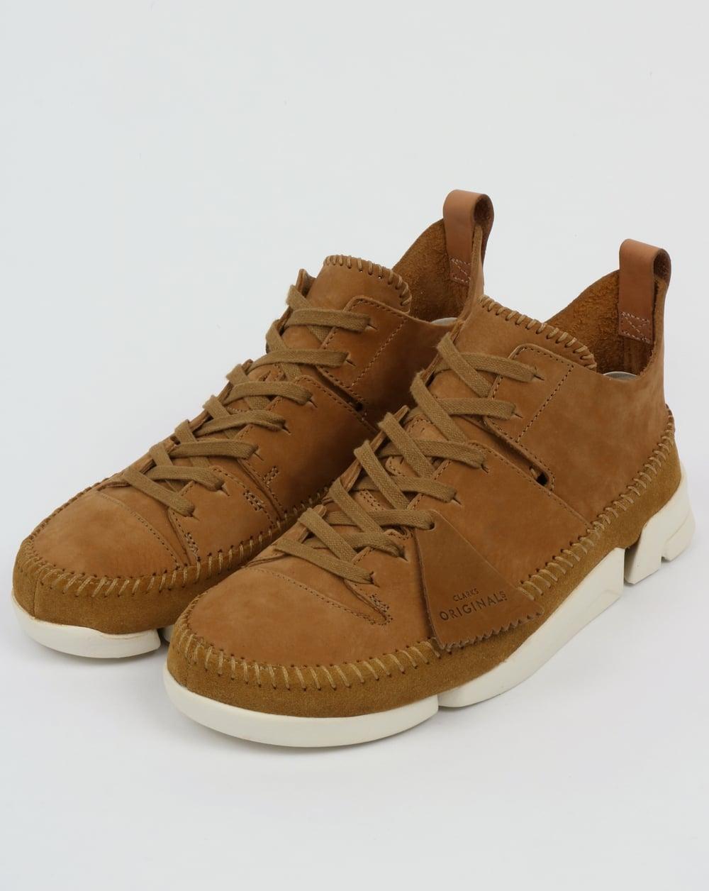 Trigenic Flex Mens Originals Shoes Oak Suede