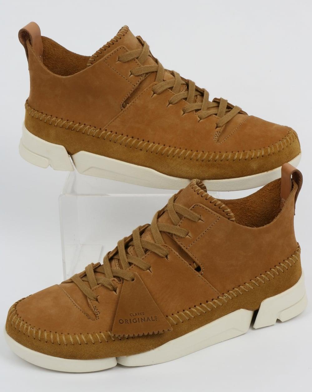Clarks Flex Trigenic Oak Shoes Originals Yb6fyg7