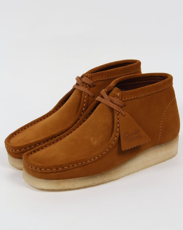 Clarks Originals Wallabee Boot Bronze