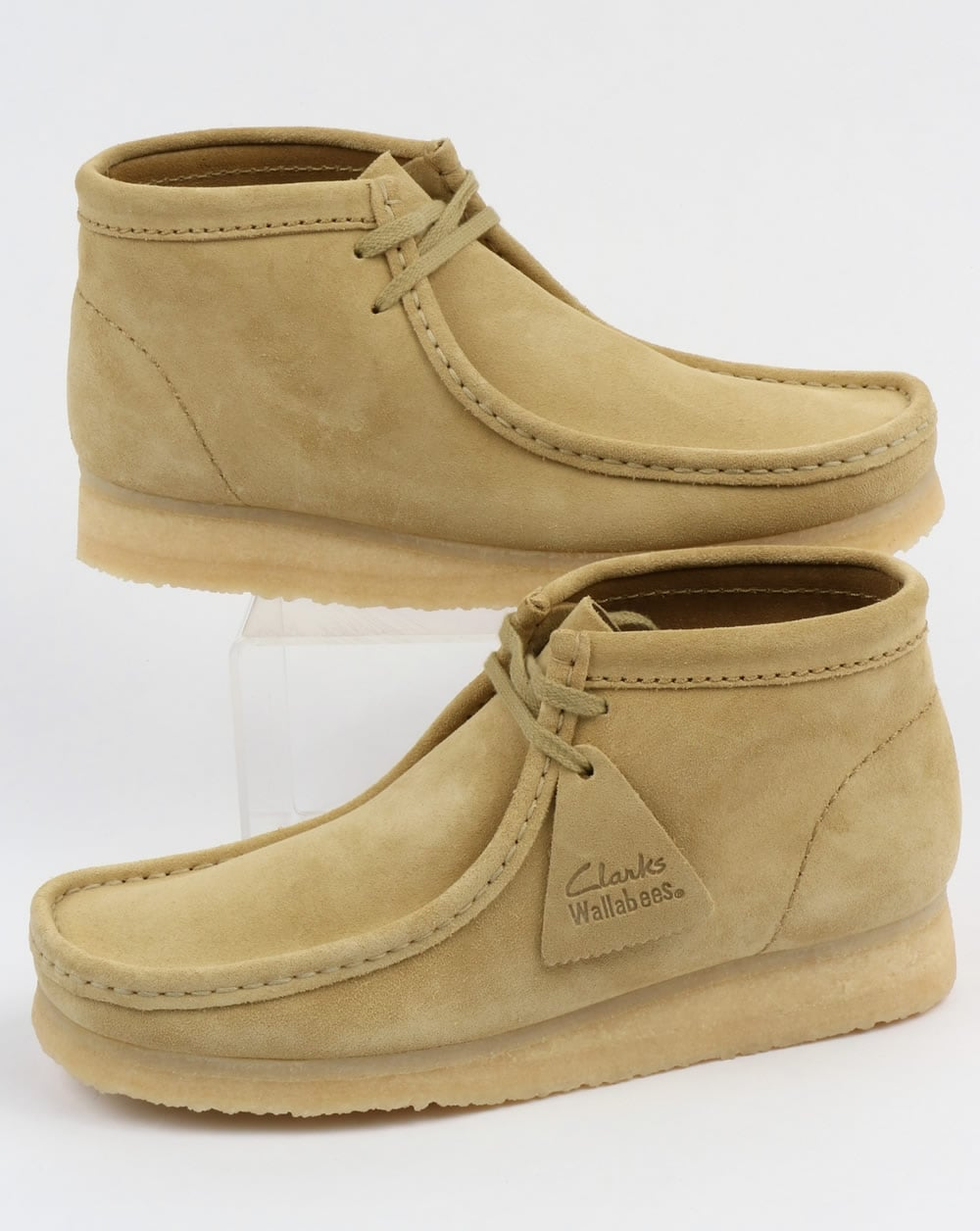 first rate 149fe 8fbef Clarks Originals Clarks Originals Wallabee Boots Maple Suede