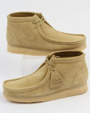 Clarks Originals Wallabee Boots Maple Suede