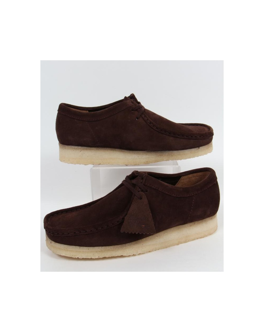 meticulous dyeing processes how to purchase select for clearance Clarks Originals Wallabee Shoe In Suede Dark Brown