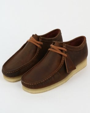 Clarks Originals Wallabee Shoes Beeswax