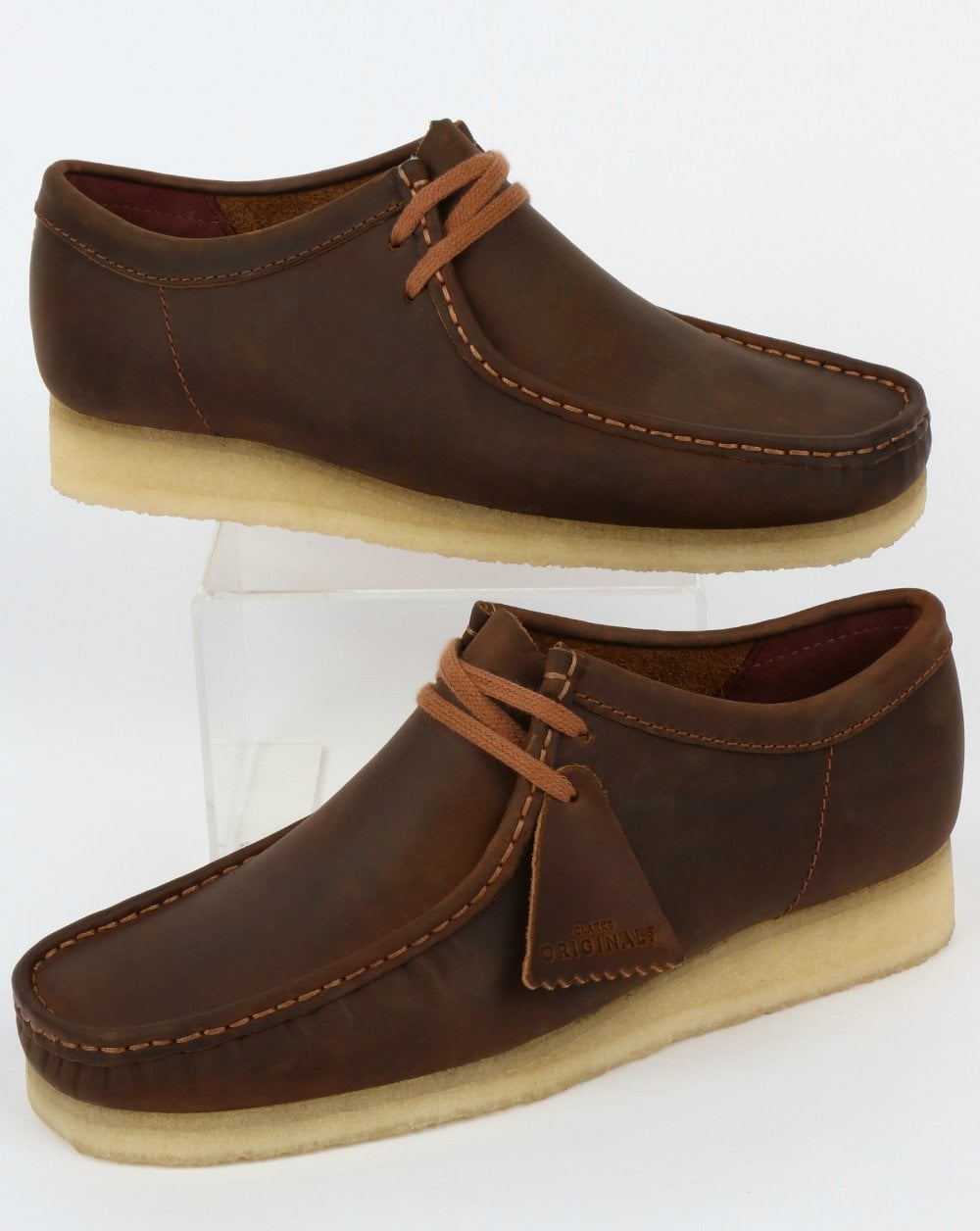 get cheap promo code cheaper Clarks Originals Wallabee Shoes Beeswax