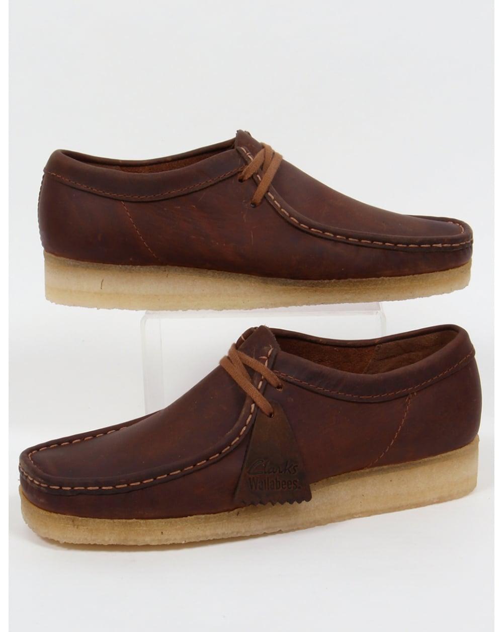 Clarks Originals Wallabee Shoes Beeswax