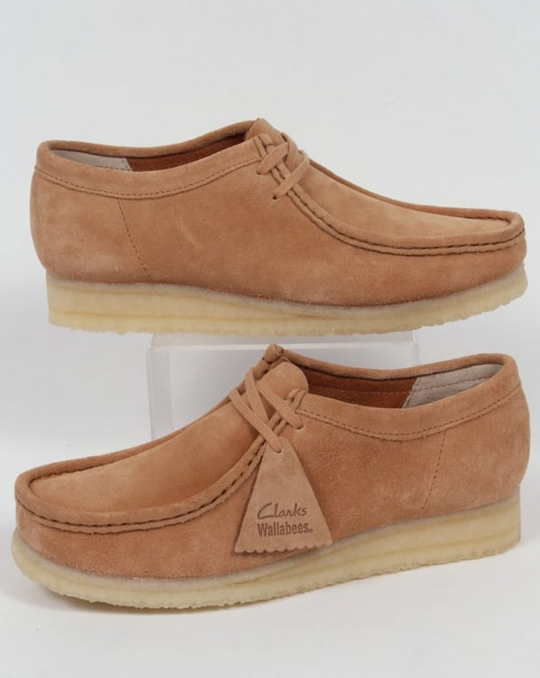 Clarks Originals Wallabee Suede Shoes Fudge