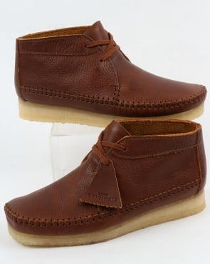 Clarks Originals Weaver Boot Tan Leather