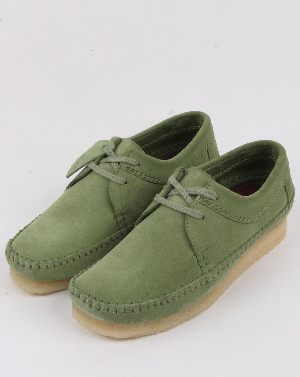 20fb5bdbedb98 Clarks Originals Weaver Shoes in Cactus Green, Mens, Footwear, Clarks