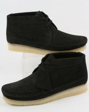Clarks Originals Weaver Suede Boot Black