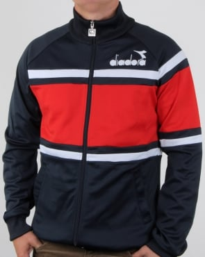 Diadora 80s Track Top Navy/Red/White