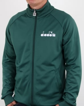 Diadora 80s Track Top Posy Green