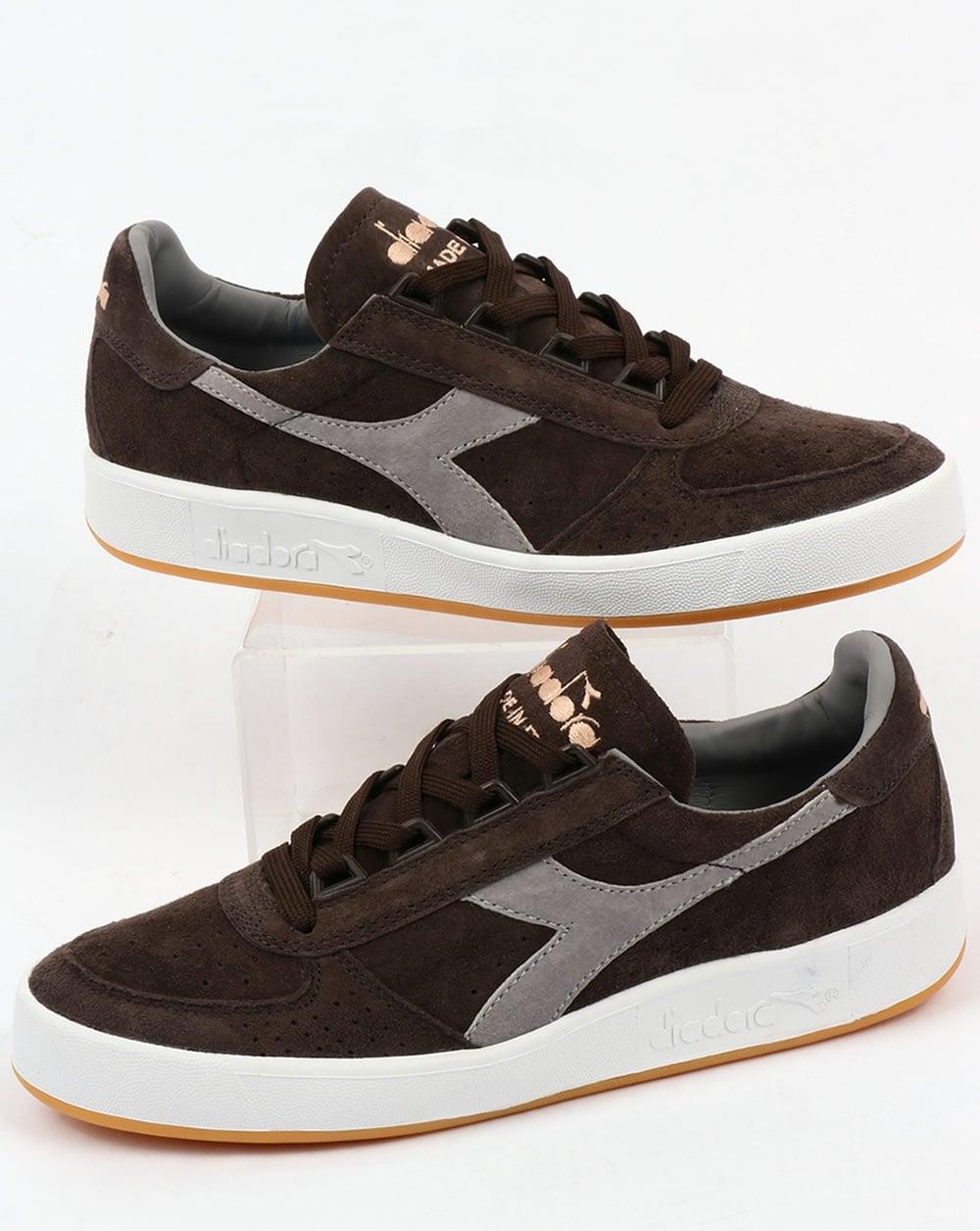 Buy Here Pay Here Ma >> Diadora B Elite Italia Suede Trainers Brown,borg,shoes,tennis,mens