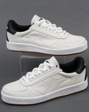 Diadora B. Elite Premium L Trainers White/Black