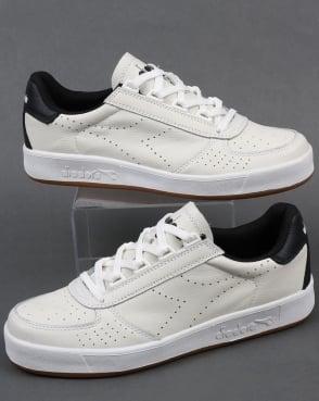 Diadora B. Elite Premium L Trainers White/Black