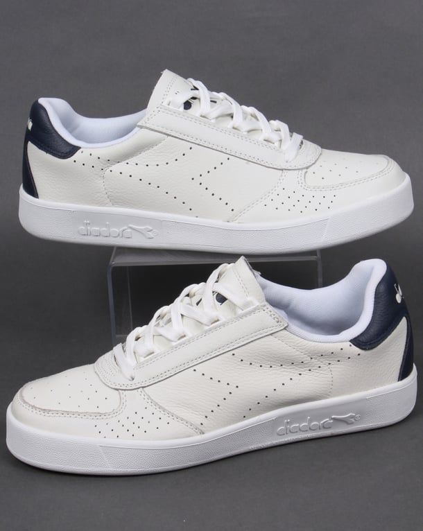 Diadora B. Elite Premium L Trainers White/Blue