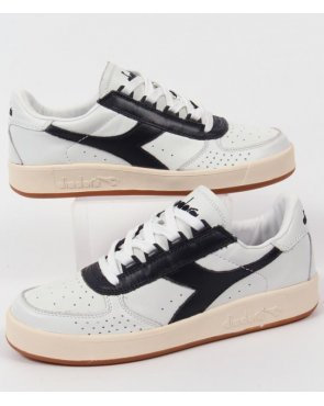 Diadora B. Elite Premium Trainers White/Navy