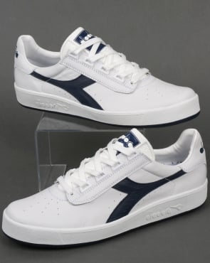 Diadora B Elite Pro Trainers White