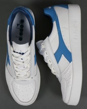 Diadora B. Elite Trainers White/Campanula Blue