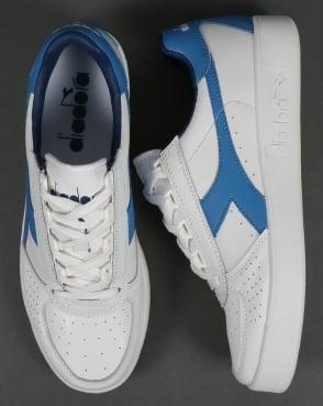 Diadora B. Elite Trainers White/Campanula Blue