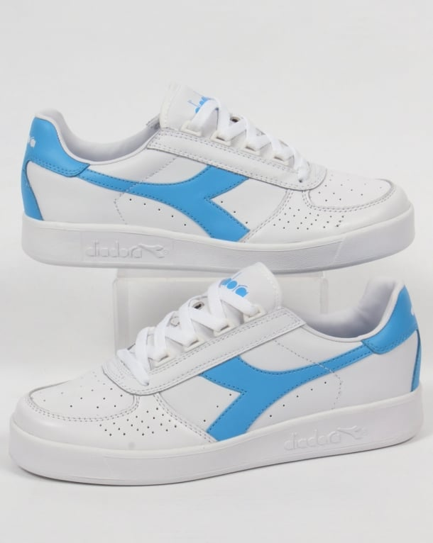 Diadora B. Elite Trainers White Fresh Blue