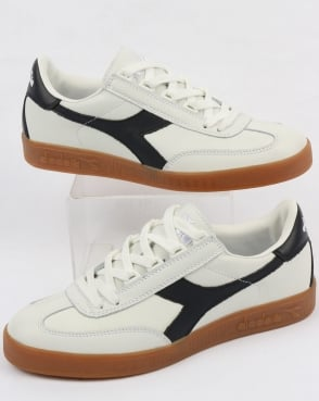 Diadora B Original Premium Trainers White/Blue