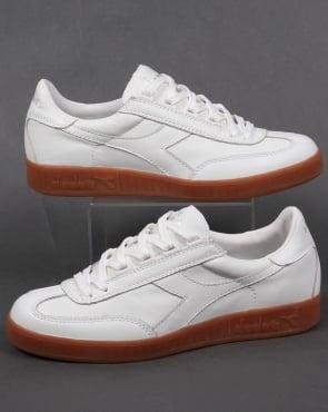 Diadora B Original Premium Trainers White/Gum