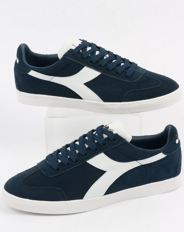 SCARPE DIADORA B.ORIGINAL VLZ BLUE DENIM/WHITE