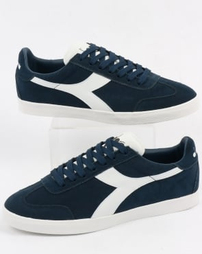 Diadora B Original Vlz Trainers Blue Denim/white