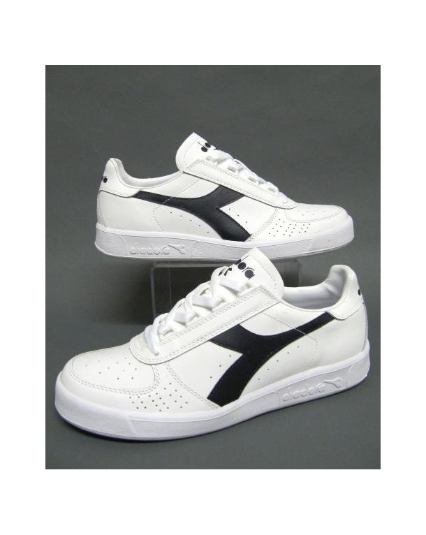 Diadora Borg Elite Trainers White/Navy