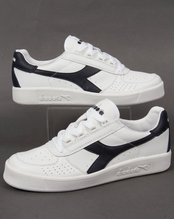 Diadora Borg Elite Trainers White - Navy