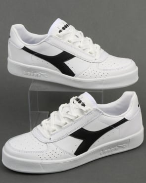 Diadora Borg Elite Trainers White/White/Black