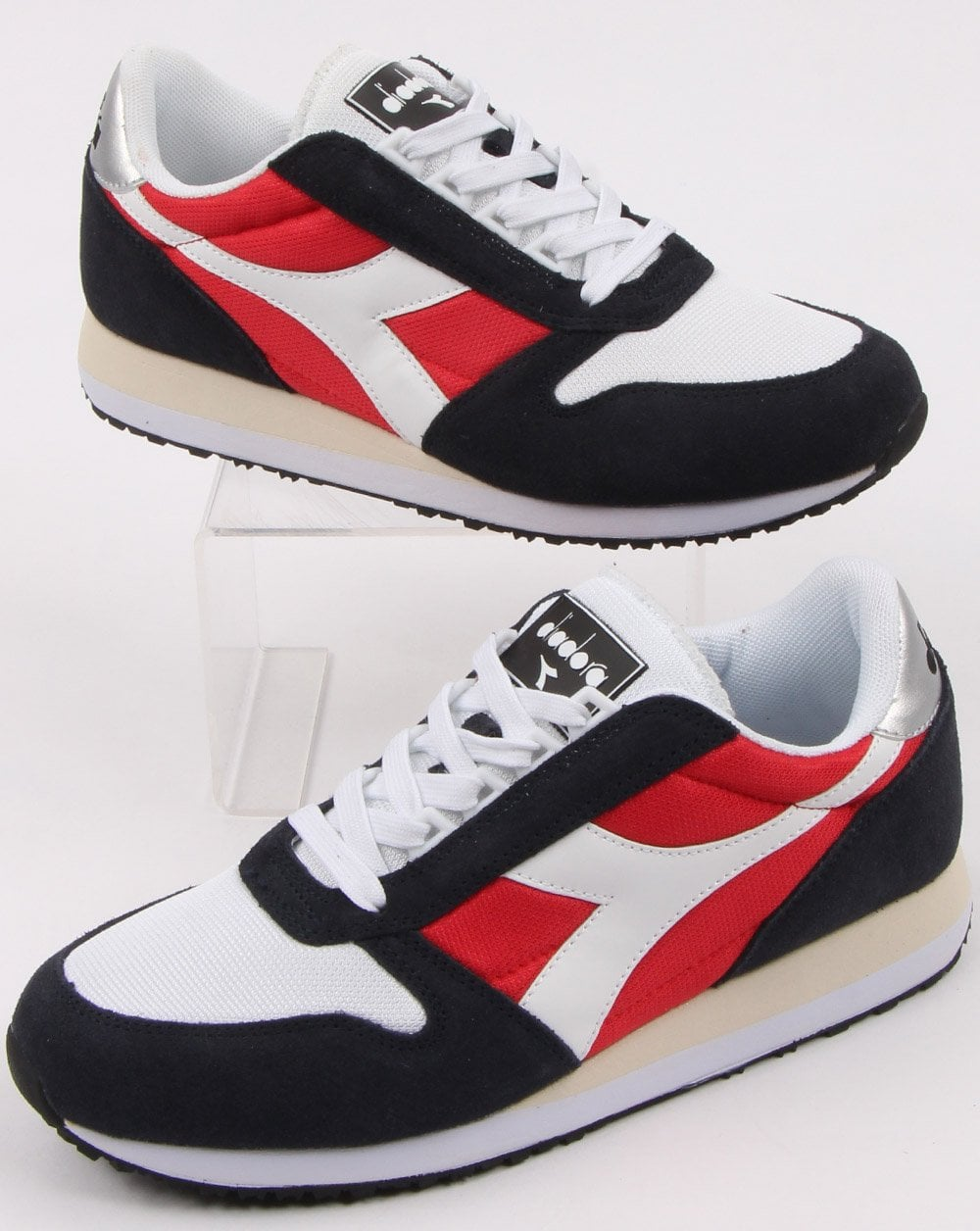 Diadora Caiman Trainer BlueRed
