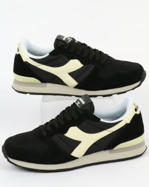 Diadora Camaro Trainers Black/Whisper White