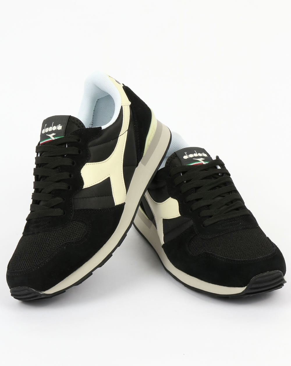 df75f6ad Diadora Camaro Trainers Black/Whisper White