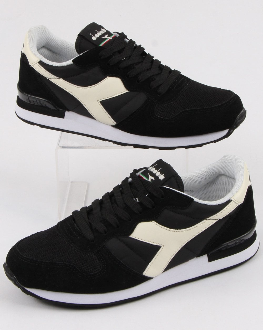 1c6d8c78e7 Diadora Camaro Trainers Black/white