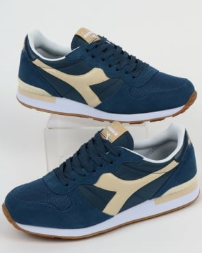 Diadora Camaro Trainers Dark Denim/Sand
