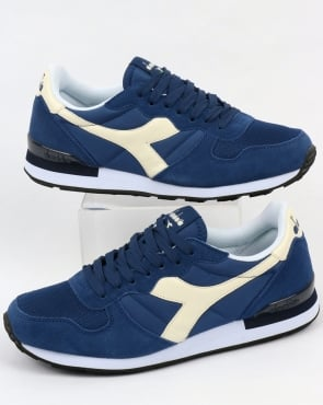 Diadora Camaro Trainers Estate Blue/White