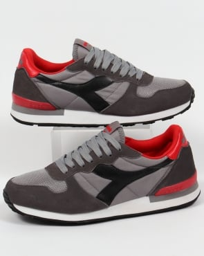 Diadora Camaro Trainers Grey/Black